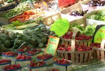 Marché  provençal hebdomadaire d'Aubignan