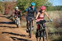 Die Drailles de Sault mit dem Mountainbike