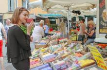 Weekmarkt van L'Isle sur la Sorgue