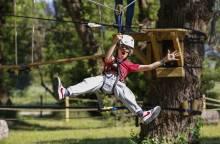Parcours aventure dans les arbres ''Oxygene Parc Aventure''