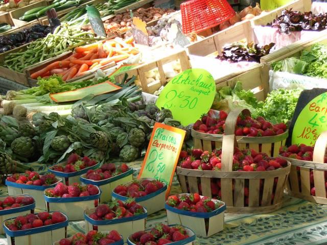 Marché provençal ©Droits gérés Sonia Jagiello