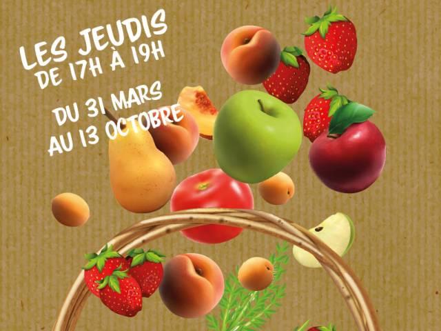 Marché des producteurs de Vedène ©Droits libres adt_vaucluse