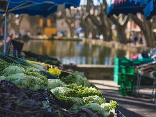 Traditioneller Markt von Cucuron ©OT LUB