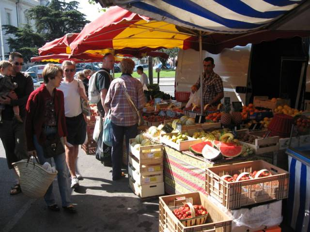 Erzeugermarkt ©Office de tourisme de Carpentras