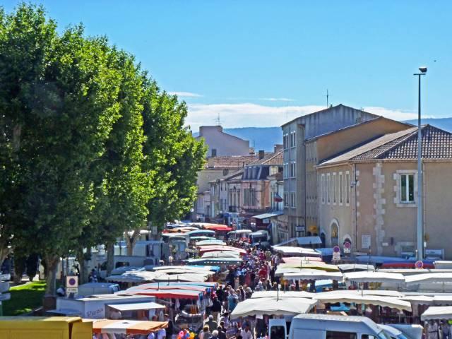 Marché Hebdomadaire ©OT Luberon Coeur de Provence