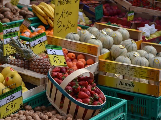 Weekly Market in Orange ©Cécile Jacques © Office de Tourisme d