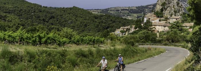 Circuit Vélo - Au pied des Dentelles