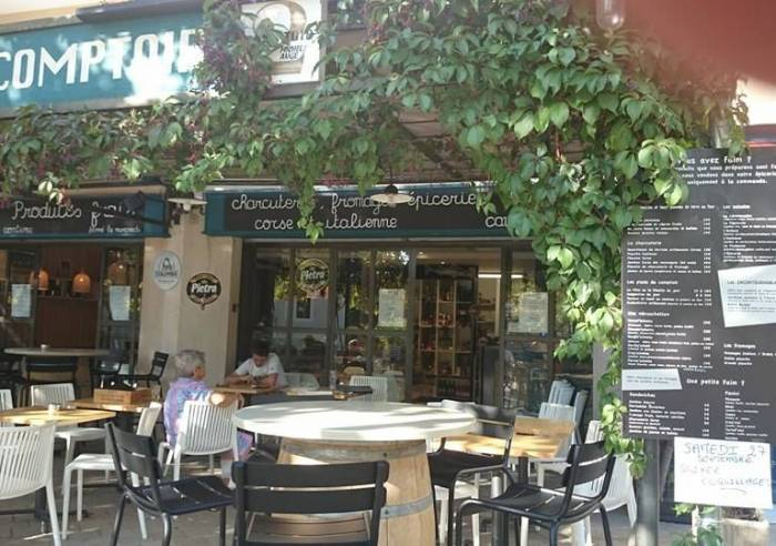 Le comptoir restaurant lourmarin d gustation de vin luberon - Le petit comptoir avignon ...