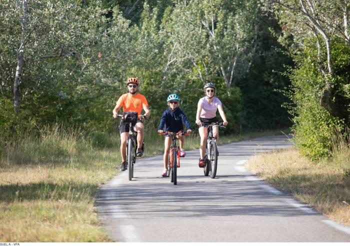 Circuit Vélo - La Voie Verte de Caderousse