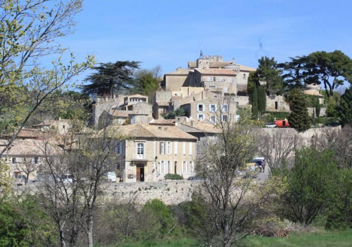 Vaucluse long distance mountain bike trail Section 5.2 Murs - Fontaine-de-Vaucluse