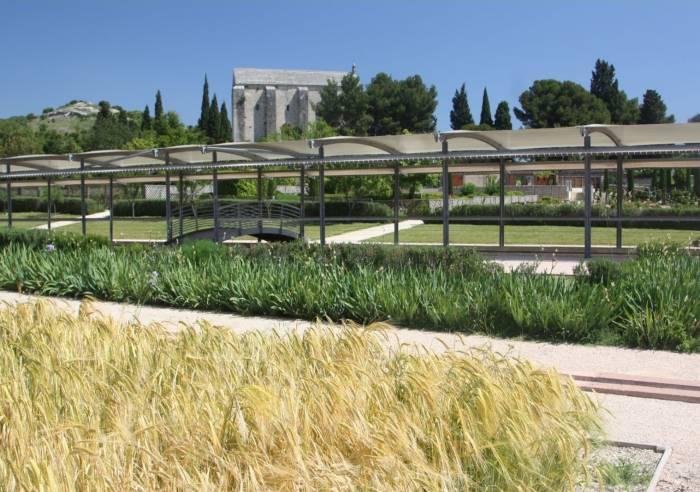 Le jardin romain de caumont sur durance visites for Caumont sur durance jardin romain
