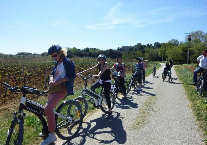 Rando-Vélo Gourmande dans le vignoble de Châteauneuf-du-Pape