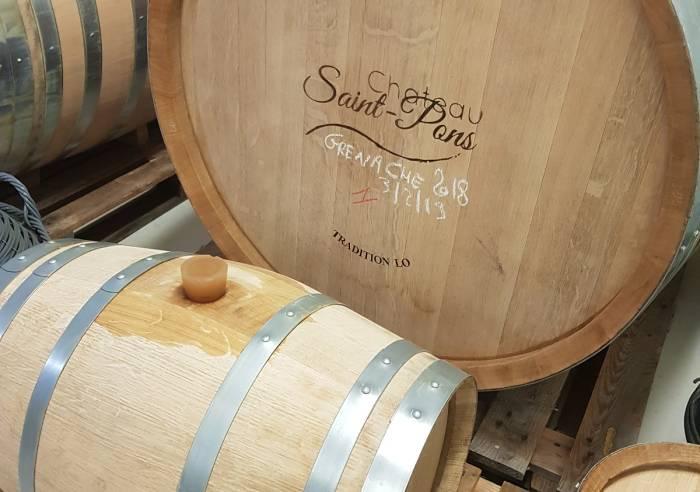Visite des chais et dégustation au Château Saint Pons