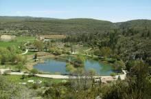 Plan d'eau de Monieux
