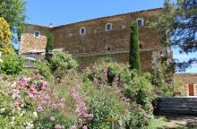 Jardin de l'abbaye de Valsaintes