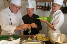 En cuisine avec le Chef