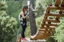 Parcours aventure avec Forest Sensation