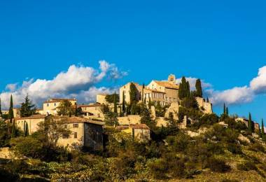 Le village de Méthamis