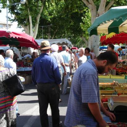 Outstanding Provence Market at Carpentras