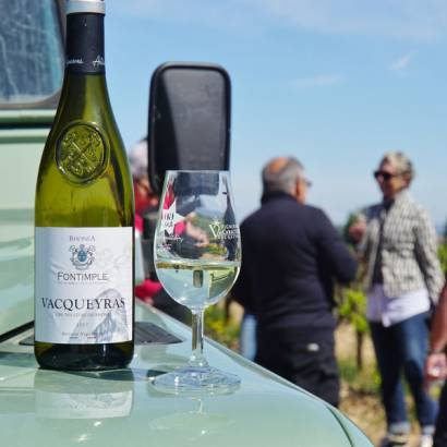 Explore our vineyards in a 4x4