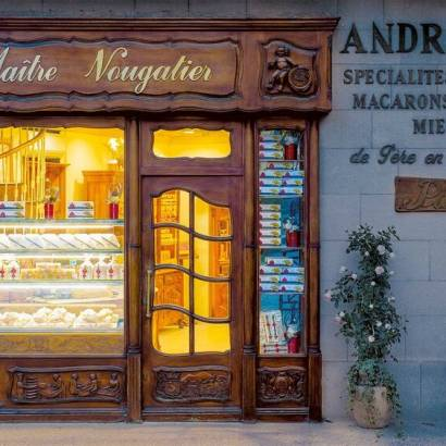 Visit the Nougat confectionery André Boyer