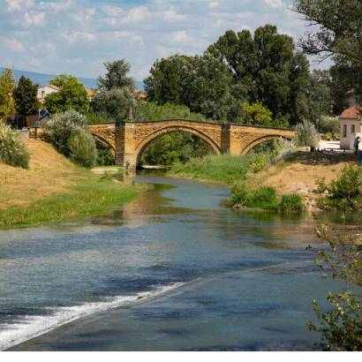 2- Cycle route: On the banks of the Ouvèze River