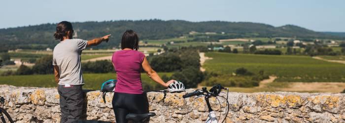 Le Pays d'Aigues à vélo