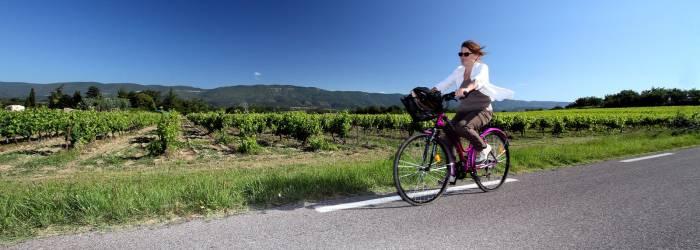 Boucle découverte à vélo : de Vitrolles en Luberon à Montjustin