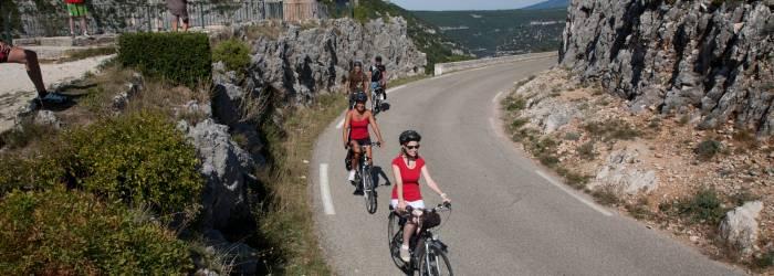 Circuit Vélo - Les Gorges de la Nesque