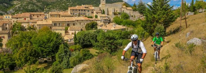 Etape 3 : Bédoin/Sault Traversée de Vaucluse VTT e-bike
