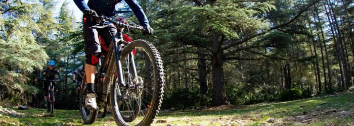 Etape 7 : Bonnieux/Mérindol Traversée de Vaucluse VTT e-bike