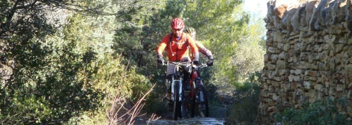 Tour du Mur de la Peste en VTT e-bike