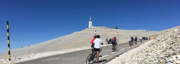 A - Ascension du Mont-Ventoux depuis Bédoin