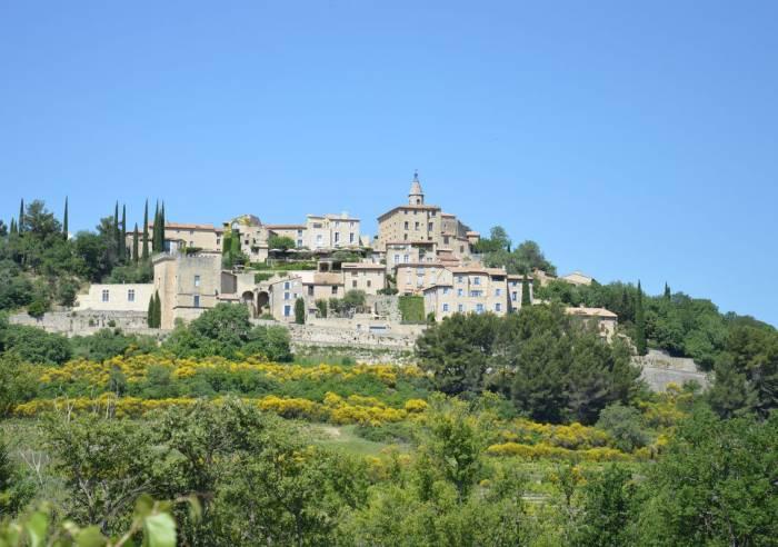 Le village de Crillon-le-Brave