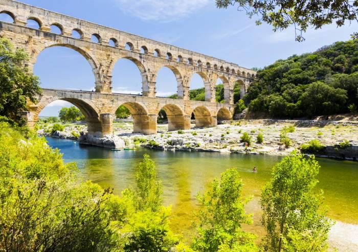 Site du Pont du Gard