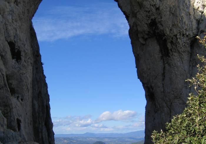 Circuit pédestre - Dentelles de Montmirail - Le Rocher du Turc