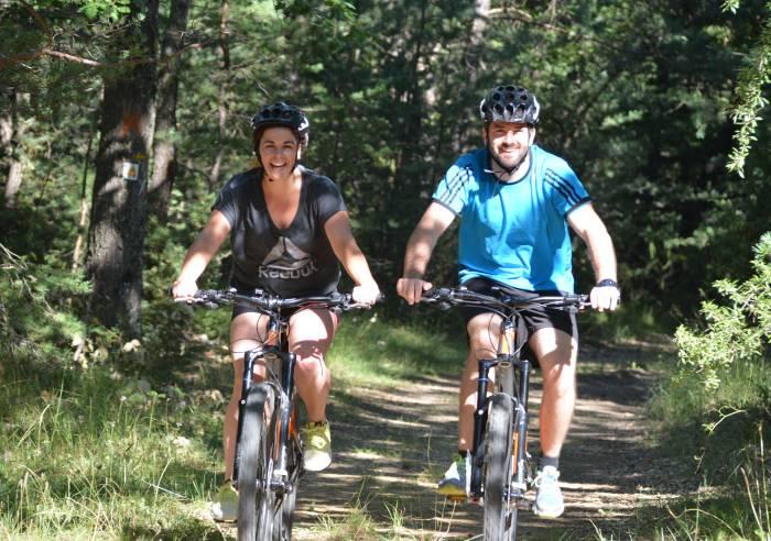 Sault - Le Bois du Défends - Mountain Bike Trail No 7