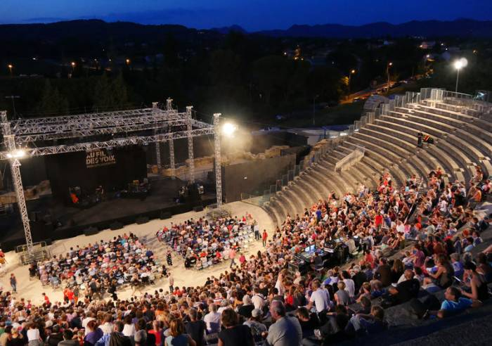 Roman Theatre in Vaison-la-Romaine