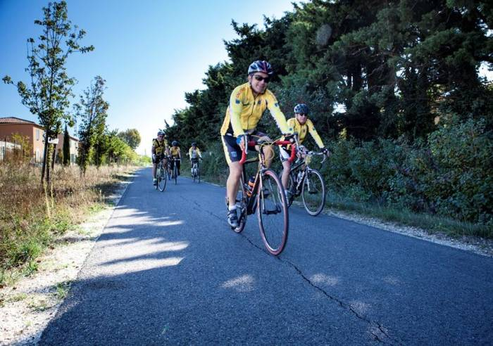 Circuit vélo : Balade de Jonquières à la Via Venaissia