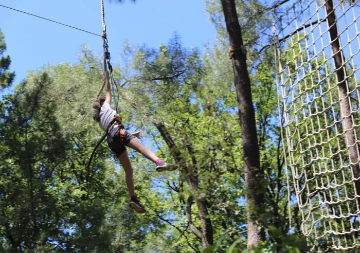 Bollène Aventure (Treetop adventure park)