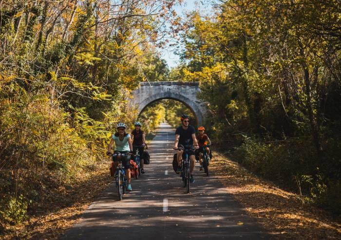 La Véloroute - Voie Verte du Calavon