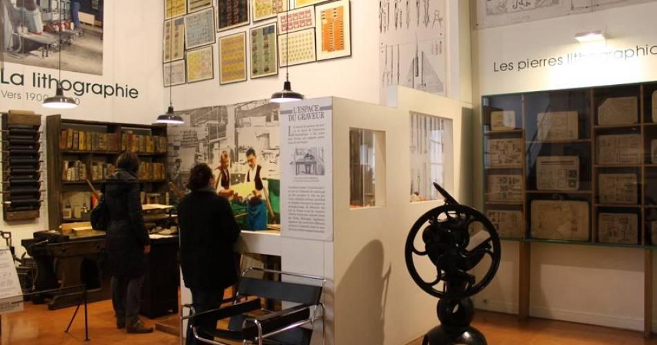 Cardboard and printing Museum@Muriel Pellegrin