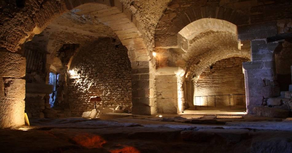 Caves & Jardins du Palais Saint-Firmin@Droits gérés Pierres d'Avenir