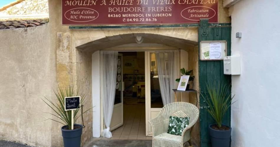 Moulin à Huile du Vieux Château@Y. Boudoire