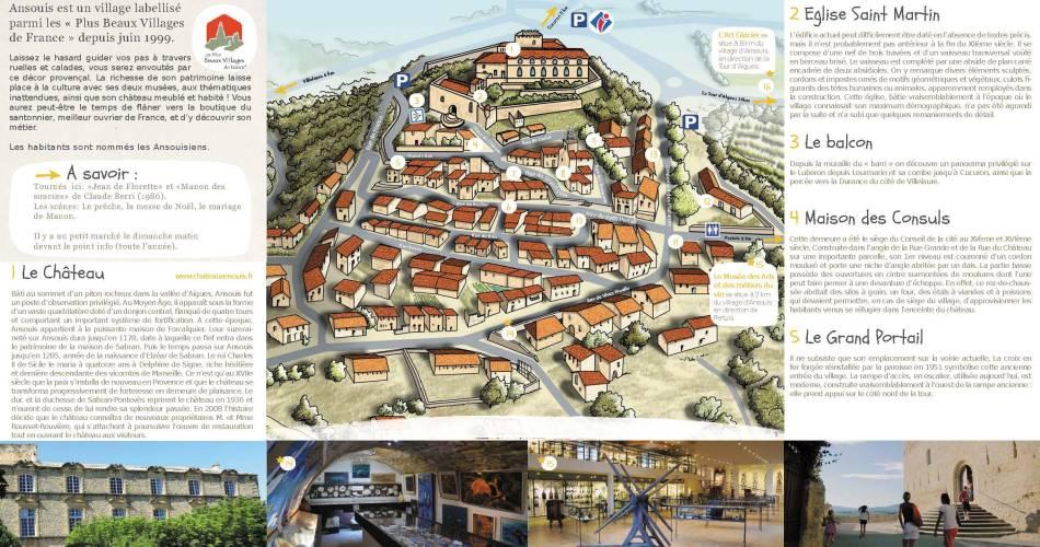 Ansouis@Droits gérés OT LUB - plan_village_ ansouis