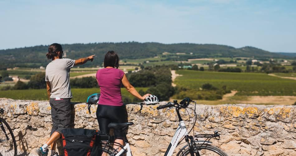 14 - Le Pays d'Aigues à vélo@Françoise Djames