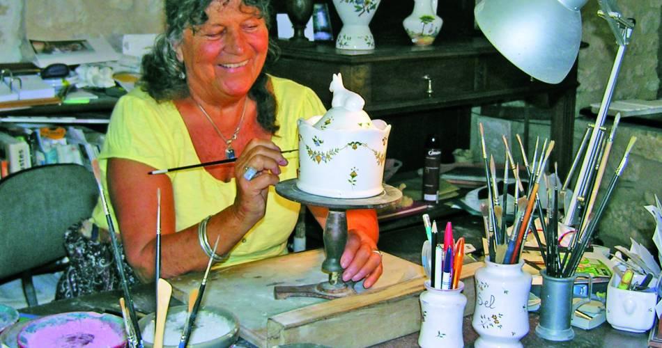 Atelier Nicole de La Bastide - Faïences@Droits Gérés Brest