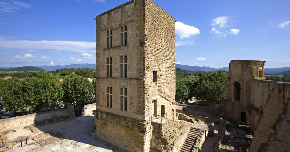Château de La Tour d'Aigues@Droits Gérés OT LUB - Château La Tour d'Aigues