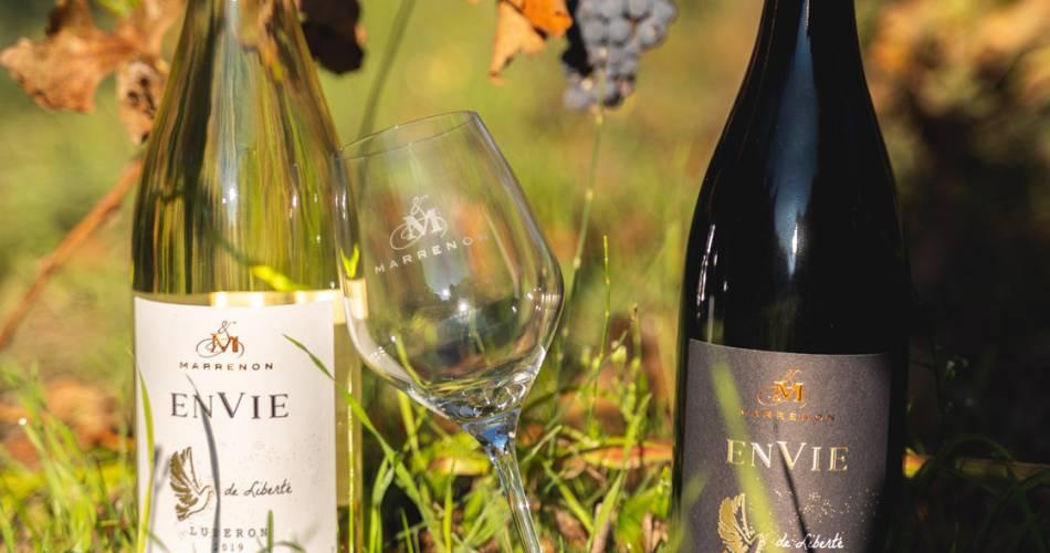 Marrenon, Vignobles en Luberon et Ventoux@Droits Gérés