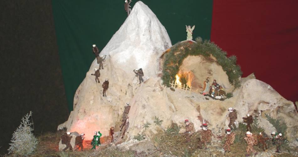 Exposition de crèches de Noël@Droits gérés J.LALANDE